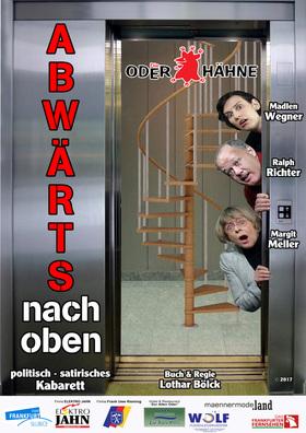 Bild: ABWÄRTS NACH OBEN - Kabarett - Die Oderhähne FFO