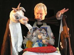 Bild: Der Wolf und die sieben jungen Geisslein - Figurentheater