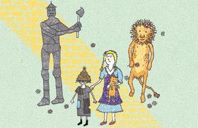 Bild: Der Zauberer von Oz / 5+ - nach dem Kinderbuch von L. Frank Braun (1856-1919)