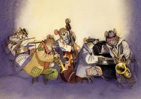 Bild: Panama Jazz Ensemble: Inspektor Maus - Franz-David Baumann, Trompete u. Leitung