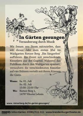Bild: In Gärten gesungen - Verzauberung durch Musik