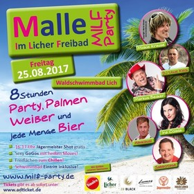 Bild: Malle im Licher Freibad - MILF Party
