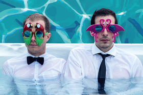 """Bild: Korff/Ludewig """"...gehen baden"""" - Das neue Programm... Pop Cabaret vom Feinsten!"""