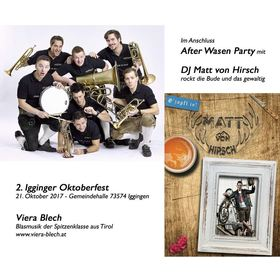 Bild: 2. Igginger Oktoberfest mit Viera Blech - Im Anschluss After-Wasen-Party mit DJ Matt von Hirsch