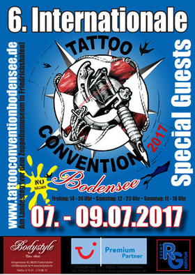 Bild: 6. Tattoo Convention Bodensee - Tagesticket Freitag