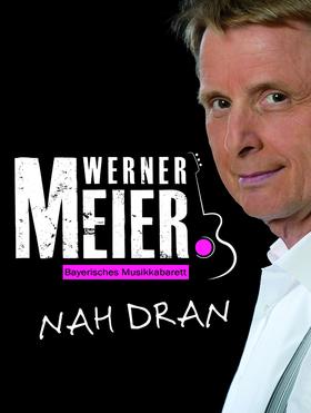 Bild: Werner Meier: Nah dran - Groovige Gitarre trifft freches Mundwerk