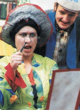 Bild: Das Zauberbuch - Theater Matz