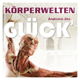 Bild: KÖRPERWELTEN Museum in Heidelberg - Anatomie des Glücks