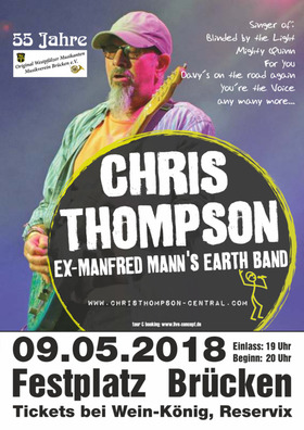Bild: Chris Thompson - Ex-Manfred Mann's Earth Band