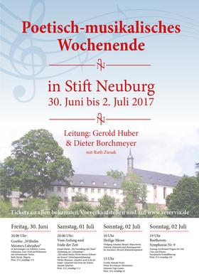 Bild: Poetisch-musikalisches Wochenende in Stift Neuburg - Goethe: Wilhelm Meisters Lehrjahre