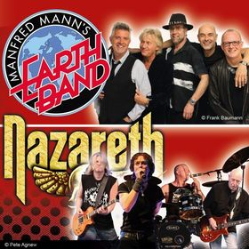 Bild: Manfred Mann's Earthband & Nazareth