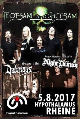 Bild: FLOTSAM AND JETSAM - & very special guests NIGHT DEMON