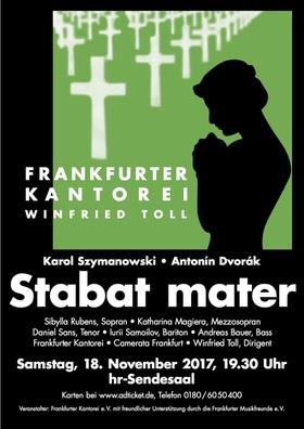 Bild: Stabat Mater für Soli, Chor und Orchester - Antonin Dvorak und Karol Szymanowski