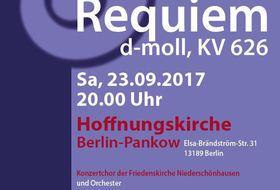 Bild: Mozart-Requiem - W. A. Mozart