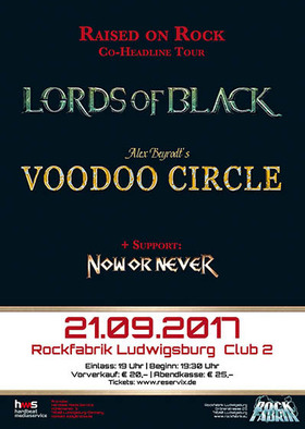 Bild: Lords Of Black & Voodoo Circle - Double Headliner Tour