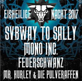Bild: Eisheilige Nacht 2017 mit SUBWAY TO SALLY - MONO INC., FEUERSCHWANZ und MR. HURLEY & DIE PULVERAFFEN