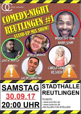 Bild: Comedy-Night Reutlingen #1 - Stand-Up Mix Show!