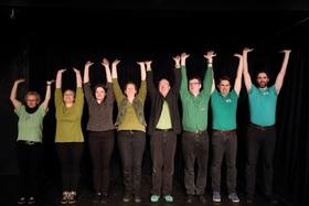 """Bild: 6aufKraut -vollendet unvollendet! - Improtheater an jedem 6. im Monat mit """"6 auf Kraut"""""""