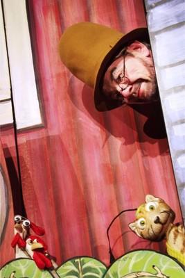 Bild: Findus zieht um - Mimenstudio Dresden