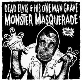 Bild: Zombie Rock´n´Roll and his Grave - DEAD ELVIS