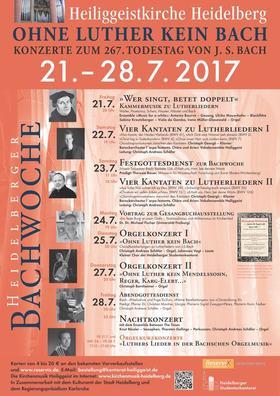 """Bild: Orgelkonzert I - """"Ohne Luther kein Bach"""""""