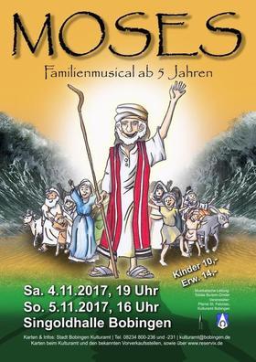 "Bild: ""Moses"" - Familienmusical ab 5 Jahren"