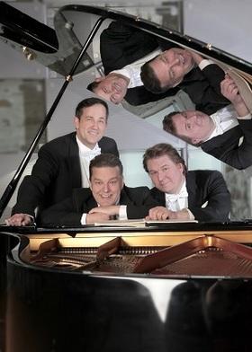 Bild: Galakonzert mit den drei Tenören und dem Ensemble Pomp-A-Dur - Drei Tenöre - Drei Freunde