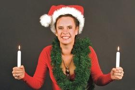 """Bild: Nessi Tausendschön - """"Weihnachtsfrustschutz"""