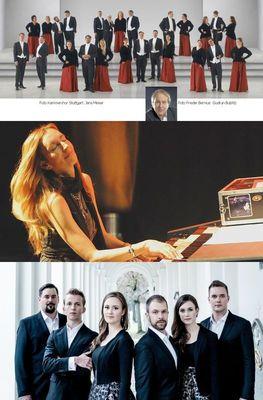 Bild: Trilogie: Kammerchor Stuttgart | Barbara Dennerlein | Ingenium Ensemble - Sonderpreis für alle drei Konzerte 14. - 16. September