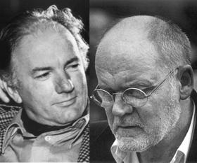 Bild: Club Fahrenheit: Hanns Dieter Hüsch zu Besuch bei Thomas Bernhard - Thomas Ney liest autobiografische Texte der beiden Wortkünstler