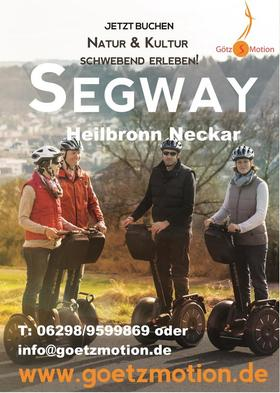 Bild: Segway Tour Heilbronn City-Tour klein - Segway Tour Heilbronn City-Tour klein