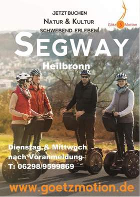 Bild: Segway Tour Heilbronn City-Tour klein - Heilbronn Segway-Site Seeing