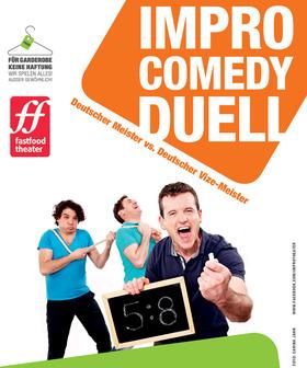 Bild: Impro-Comedy-Duell: Der Deutsche Meister gegen den Deutschen Vize-Meister im Improvisationstheater