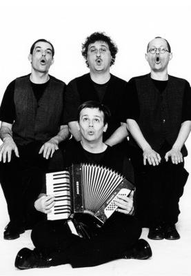 Bild: Ein Herrenquartett unterwegs! - Mistcapala bietet Kabarett - Satire - Musik
