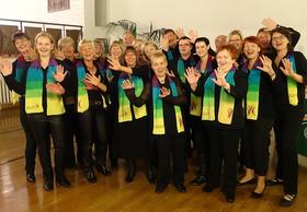 """Bild: Konzert der """"GOSPELFRIENDS"""" - aus Eisenhüttenstadt"""