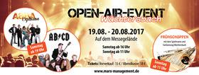 Bild: Open-Air-Event Wächtersbach - Abba Explosion & ABCD