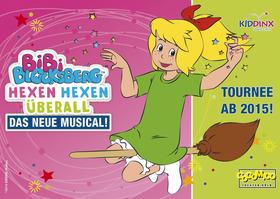 Bild: Bibi Blocksberg - Musical für Kinder ab 4 Jahren