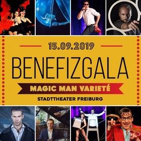 Bild: Varieté Benefiz Gala für Äthiopien - Zauberkünstler THE MAGIC MAN präsentiert Kleinkunst Varieté für die Stiftung Menschen für M