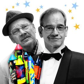 Bild: Frank Küster und Herr Heuser vom Finanzamt