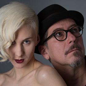 Bild: Lisa Eckhart und Sven Kemmler - Die Nymphe und der finstere Förster