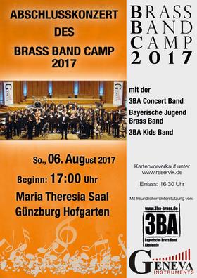 Bild: Abschlusskonzert Brass Band Camp 2017 - Abschlusskonzert Brass Band Camp 2017 Günzburg