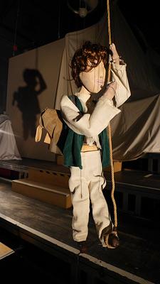 """Bild: PuppenTheaterTeufel zeigt: """"Die Reise zum Mittelpunkt der Erde"""" - Marionettentheater nach dem gleichnamigen Roman von Jules Verne"""