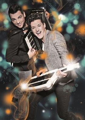 "Bild: pasta & musica mit den ""LAMAS"""