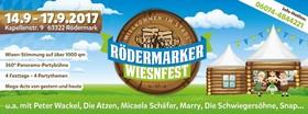 Bild: 1. RÖDERMARKER Wiesnfest 2017 -