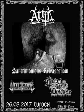 """Bild: Attic - """"Sanctimonious Releaseshow"""""""