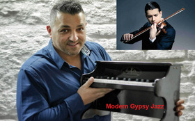 Bild: Jermaine Landsberger Trio feat. Sandro Roy - Modern Gypsy Jazz