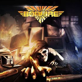 Bild: BONFIRE - Byte The Bullet - European Tour 2017