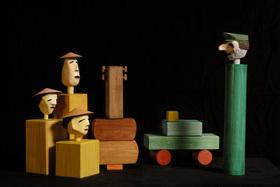 Bild: Drei Chinesen mit dem Kontrabass - Ein Spiel für Kinder ab 4 Jahren
