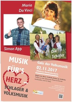 Bild: Gala der Volksmusik - Musik für´s Herz