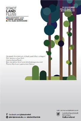 Bild: Stadt, Land, Fluss - Interaktive Spiel- und Unterhaltungsshow mit Texten und Musik von Pierre Jarawan, Alex Burkhard
